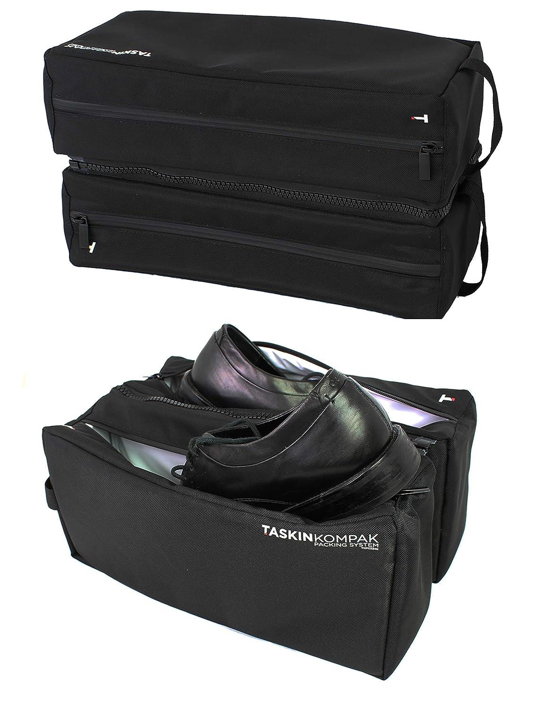 Taskin Qik Odor Resistant Twin Shoe Bag - Fits 4 Shoes