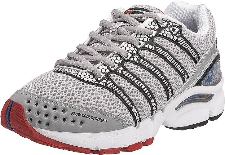 K-Swiss - Zapatillas de Running de Material Sintético para Mujer Gris: Amazon.es: Zapatos y complementos