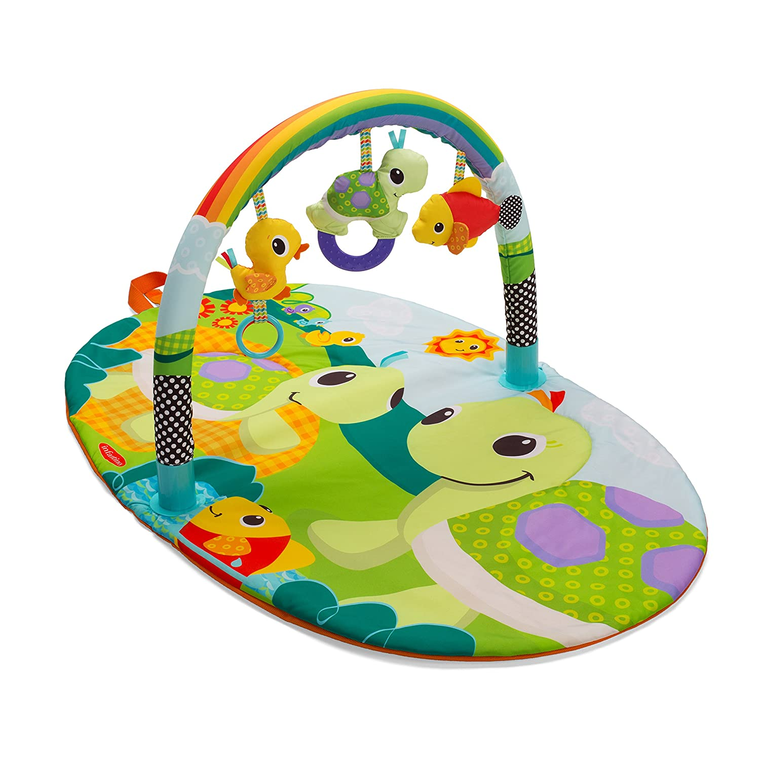 Infantino Topsy Turvy Explore and Store Activity Gym Turtles 216-029