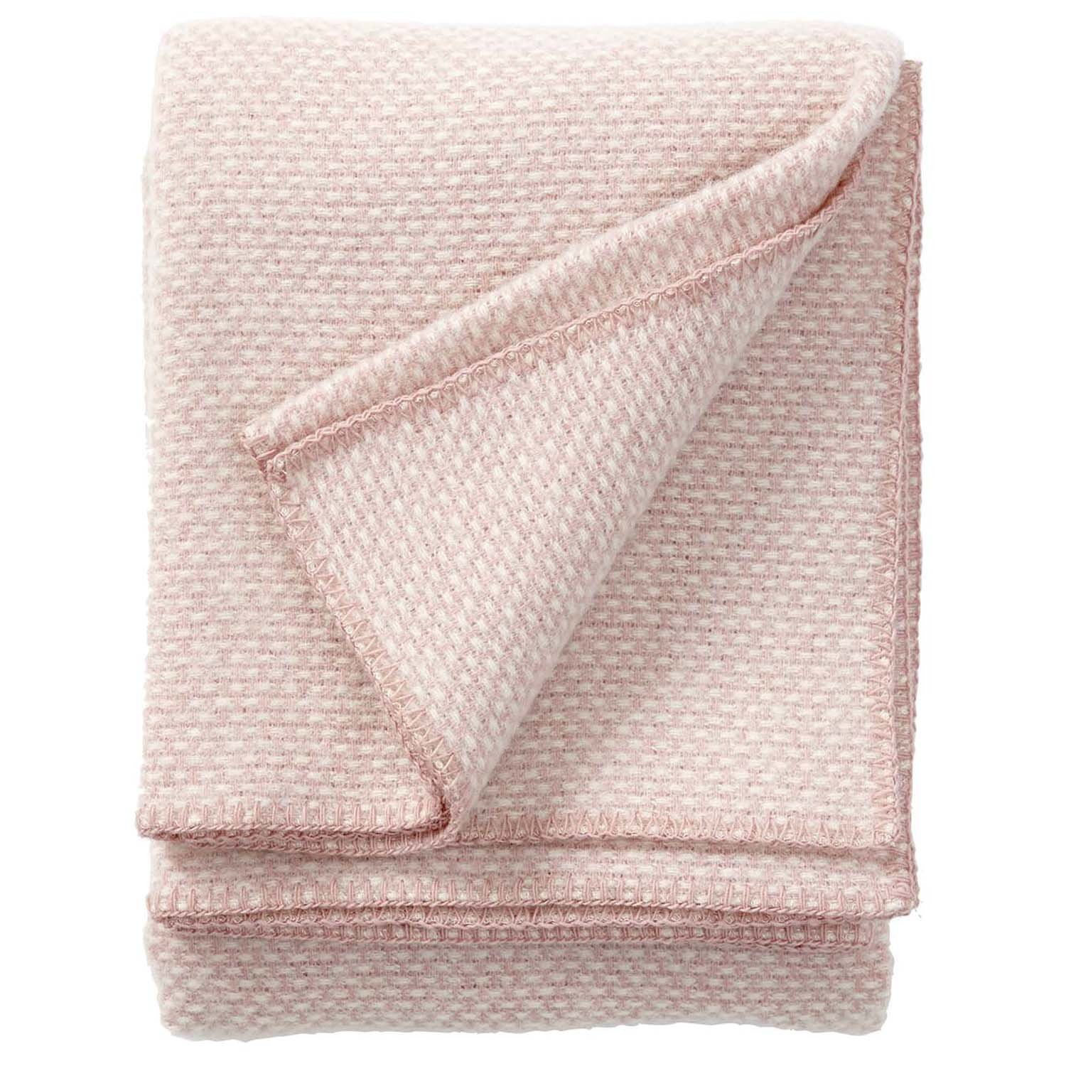 Klippan Domino Classic Throws and Blankets, Pink, 180 x 130 x 0.5 cm 7340032214390