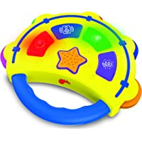 The Learning Journey Early Tunes Tambourine Electronic Musical Toddler Toys
