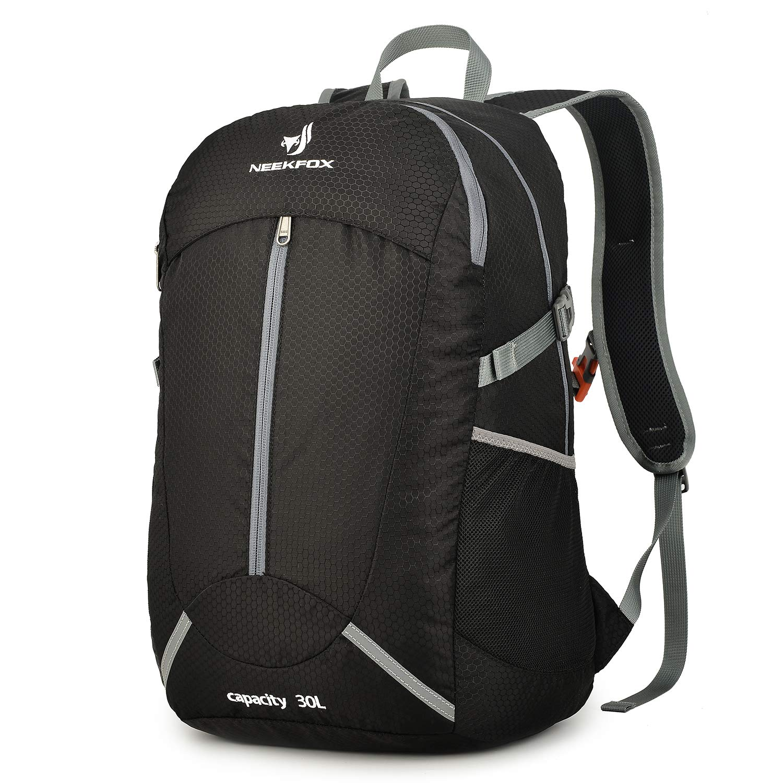 8253d715c2 Amazon.com   NEEKFOX Lightweight Packable Hiking Backpack 30L Travel Hiking  Daypack for Men Women   Sports   Outdoors