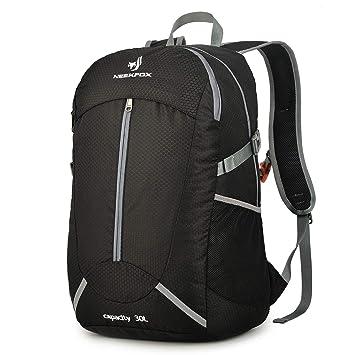 sito affidabile 9cfe3 d7e3e NEEKFOX Zaino da Trekking Leggero Compattabile Zaino da 30 Litri Viaggio  Trekking Giorno Pack per Uomo Donna, Zaino Pieghevole Ultraleggero per ...