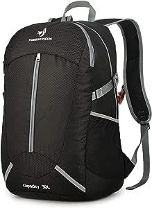 para acampar Bolsa mochila de d/ía de alpinismo para deportes al aire libre de gran capacidad Mochila de excursionismo mochila de trekking de nylon impermeable de 75 con funda para lluvia