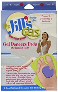Dr. Jills Extra Thick Dancers Pads for Right Foot *2 Pack*