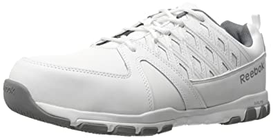 Reebok Work Men's Sublite Work RB4443 Industrial and Construction Shoe,  White, ...