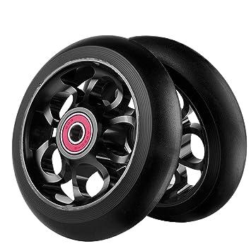 Z-FIRST - 2 ruedas de repuesto para scooter Pro de 100 mm con rodamientos Abec9 para MGP/Razor/Lucky/Envy Pro: Amazon.es: Deportes y aire libre