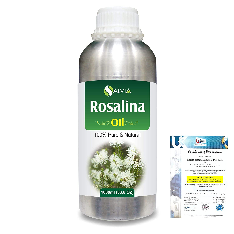 Rosalina (Melaleuca Ericifolia) 100% Natural Pure Essential Oil 1000ml/33.8fl.oz. B07R2CN3H6