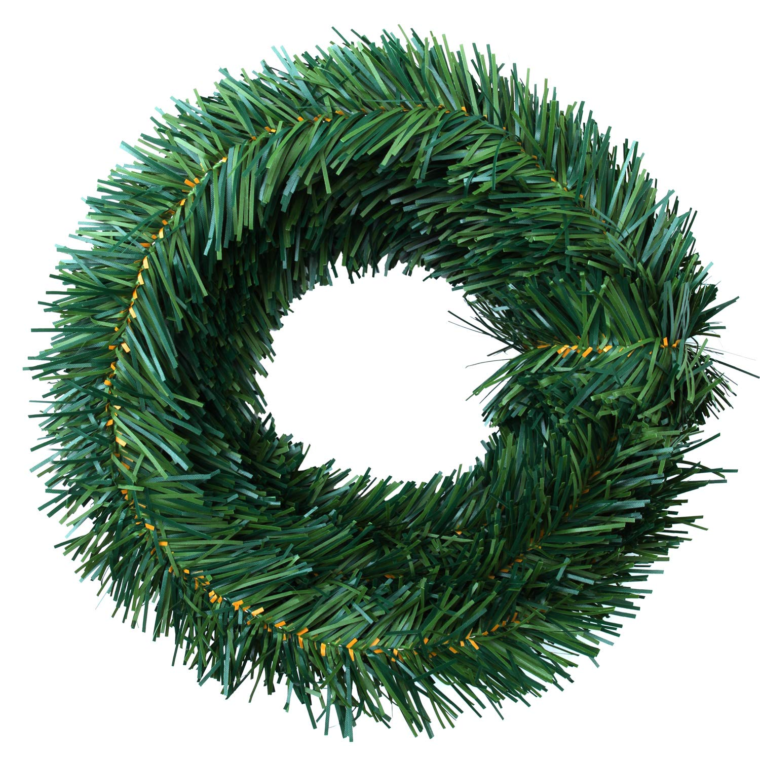 Christmas Pine Garland.Elcoho 18 Foot Christmas Pine Garlands Christmas Artificial Green Pine Garland Wreaths For Christmas Home Or Wedding Party Decorations Green