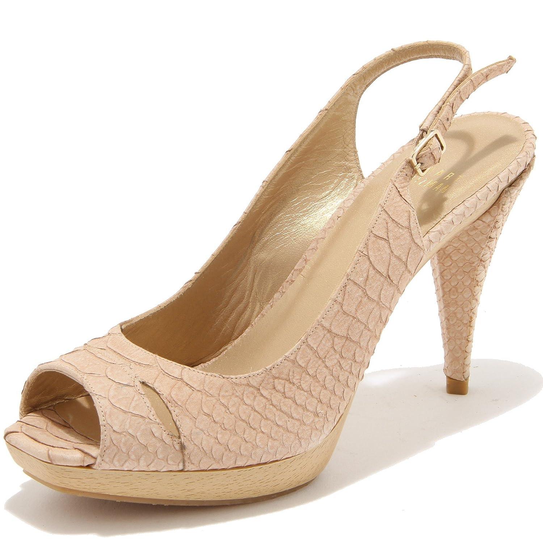 Stuart Weitzman 59090 Sandaleo Decollete Scarpa Damenschuhe Schuhes Damens Beige