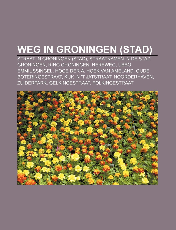 Weg in Groningen stad : Straat in Groningen stad ...