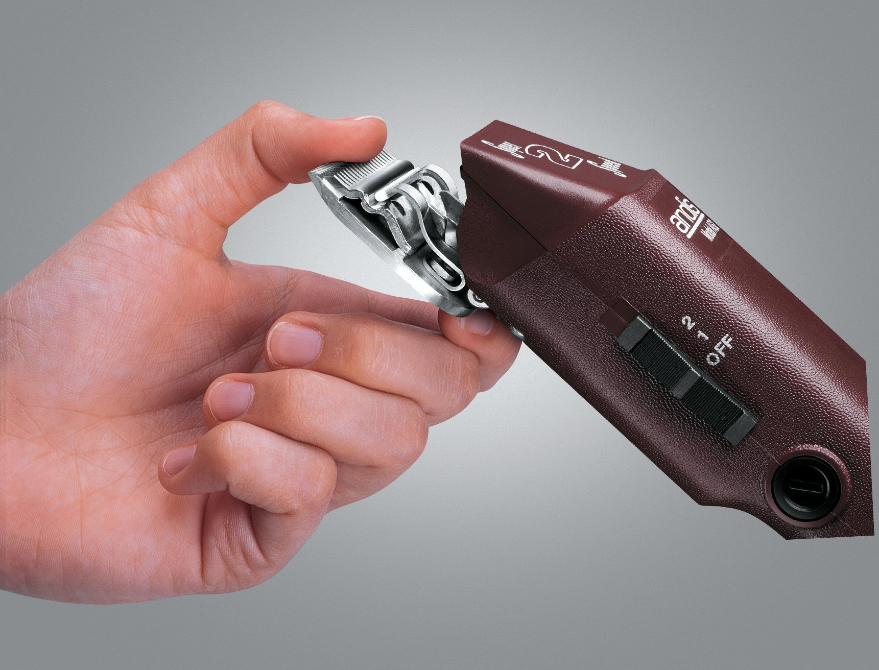 Andis Super AG2 2-Speed Detachable Blade Clipper, Professional Animal Grooming, AG-2  (22235)