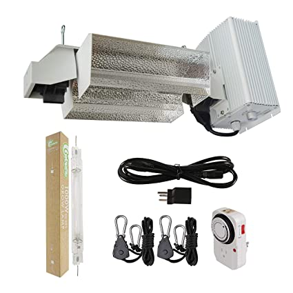 Hydro Crunch 1000 Watt Double Ended Hps Pro Series Open Style Complete Grow Light System 120 Volt 240 Volt With De Hps Lamp