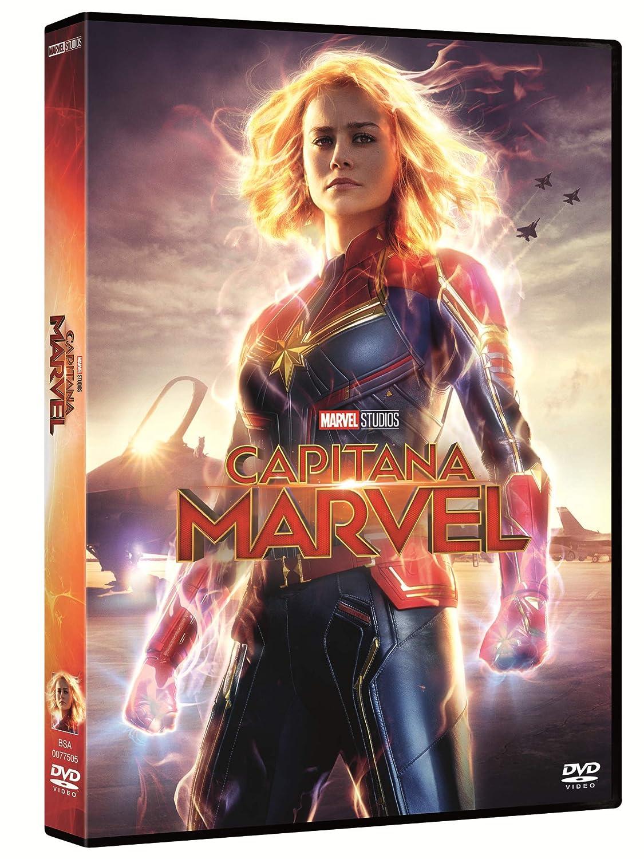 Capitana Marvel [DVD]: Amazon.es: Brie Larson, Jude Law, Samuel L. Jackson, Ben Mendelsohn, Anna Boden, Ryan Fleck, Brie Larson, Jude Law: Cine y Series TV
