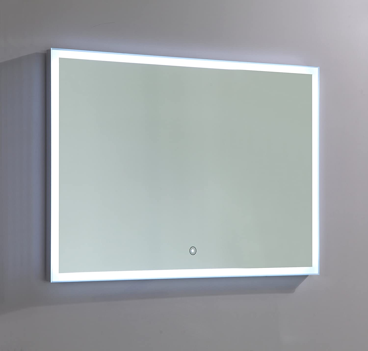 Amazon.com: Vanity Art LED lighted vanity Bathroom Mirror with white ...