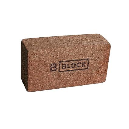 Amazon.com: B bloque B bloque de Yoga bloque de Yoga, corcho ...