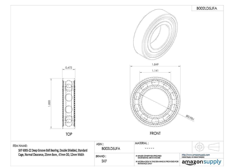 sensore di velocit/à dellABS dellautomobile per 94BB-9E731-CA KIMISS Sensore di velocit/à della ruota di automobile