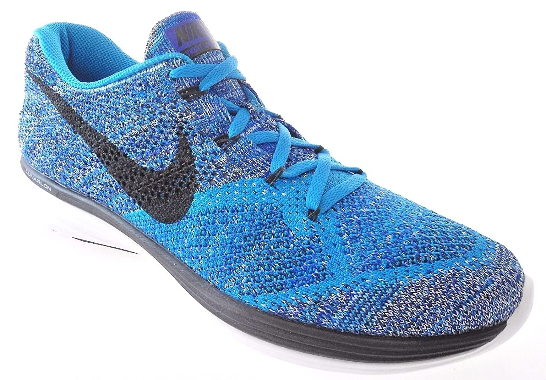 8229e9de8a5 NIKE Flyknit Lunar3 Mens Running Shoes Blue Lagoon Black 698181 402 (7)   Amazon.co.uk  Shoes   Bags