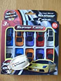 Toy Cars - 10 PACK. Die Cast Metal Super Cars. 10 Pack Bundle. Hot Rods. For Ages 3+ **Limited Stock**