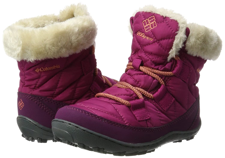 Columbia Kids Youth Minx Shorty Omni-Heat Waterproof Snow Boot 1709751