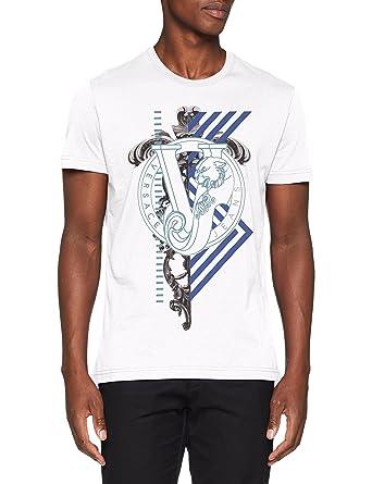 Versace Man T-Shirt, Pull sans Manche Homme  Amazon.fr  Vêtements et  accessoires 7ee145b6e1f