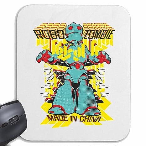Mousepad alfombrilla de ratón ROBOTS zombi formada EN CHINA ROBOT ROBOT ROBOT ROBOT RETRO Technology Company