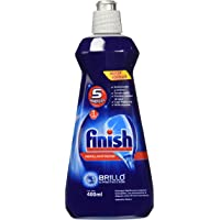 Finish Enjuague Líquido Abrillantador para Lavavajillas, 400 ml