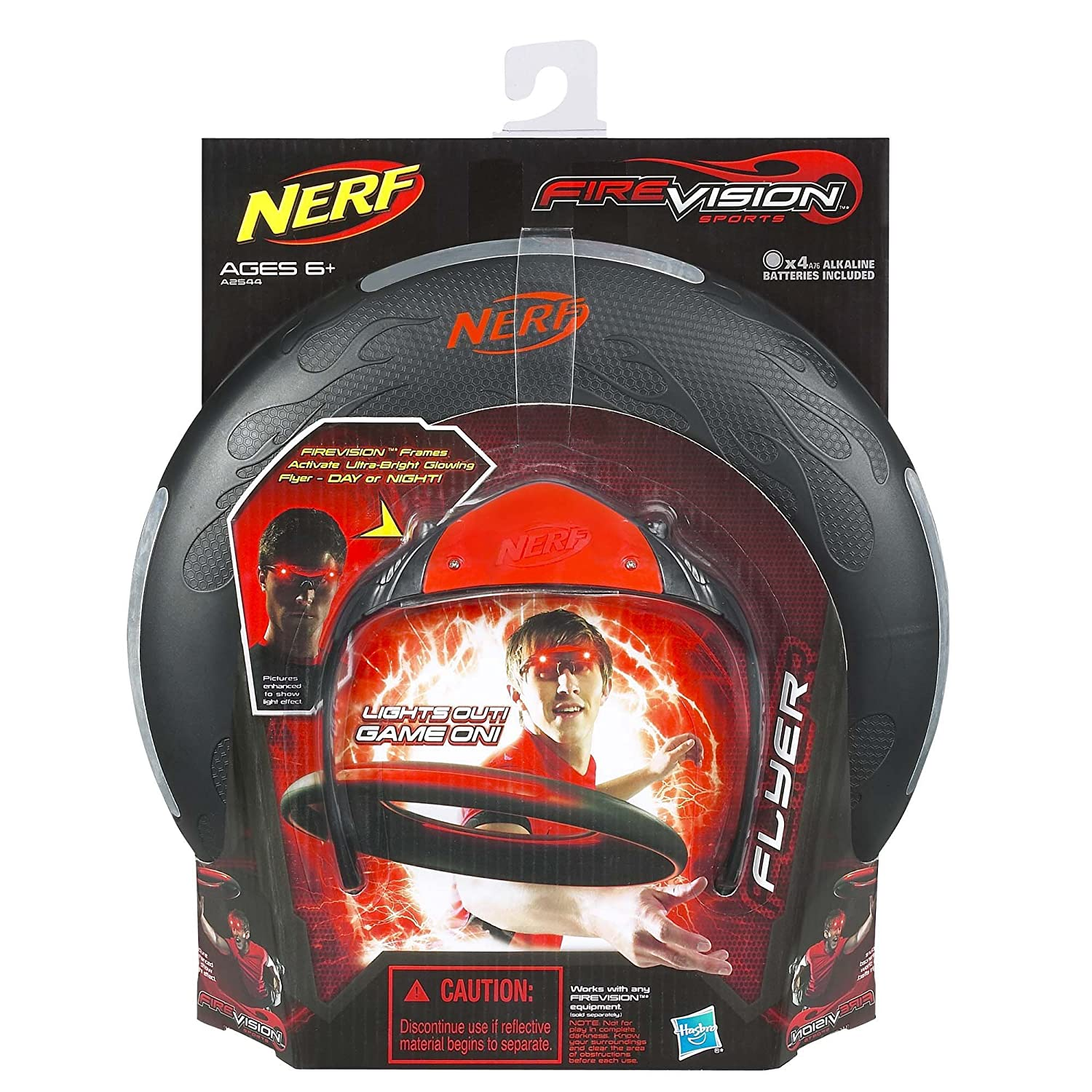 Amazon.com: Nerf Firevision Sports Flyer Disc: Toys & Games