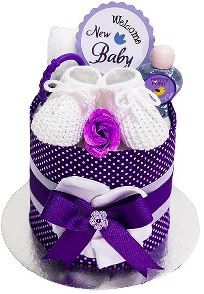 Happy Baby - Tarta De Pañales - de regalo bebé ducha partido ...