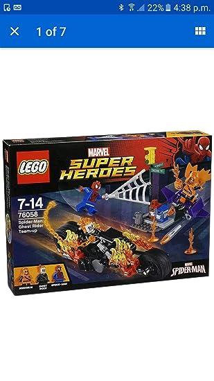Lego Marvel Superheroes Spider-Man: Ghost Rider Team-Up - 76058 ...