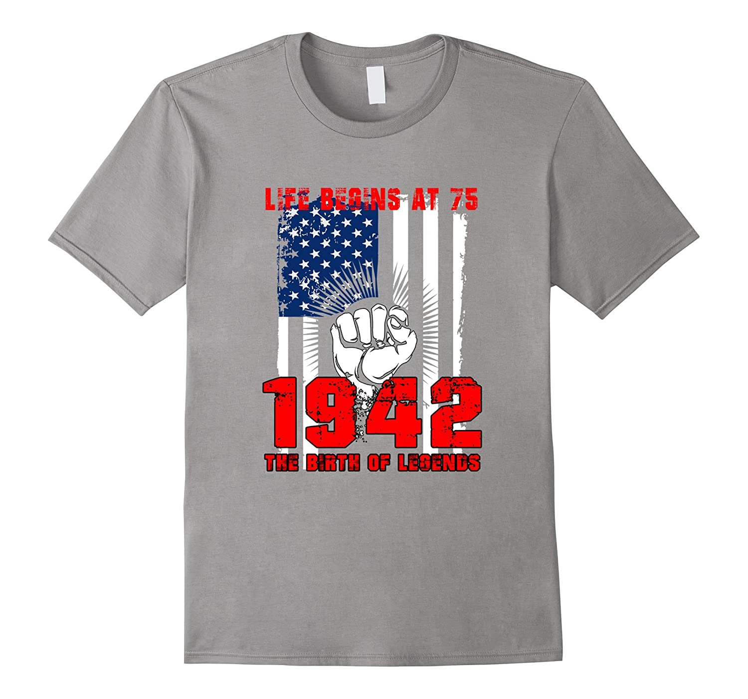 Journey To 75th Birthday T Shirts For Men Women Turning 75 PL