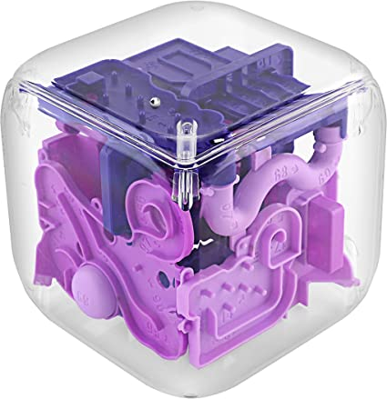 FineLife Products Purple Maze 3D Marbke Game