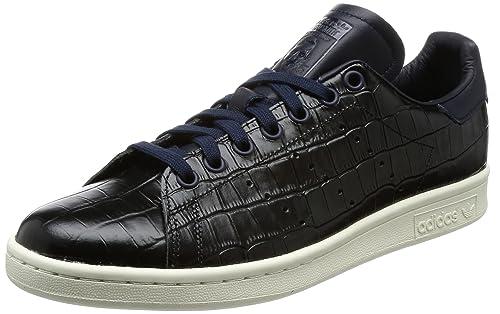 adidas Stan Smith BZ0453, Scarpe da Fitness Uomo, Blu Tinley, 40 1/