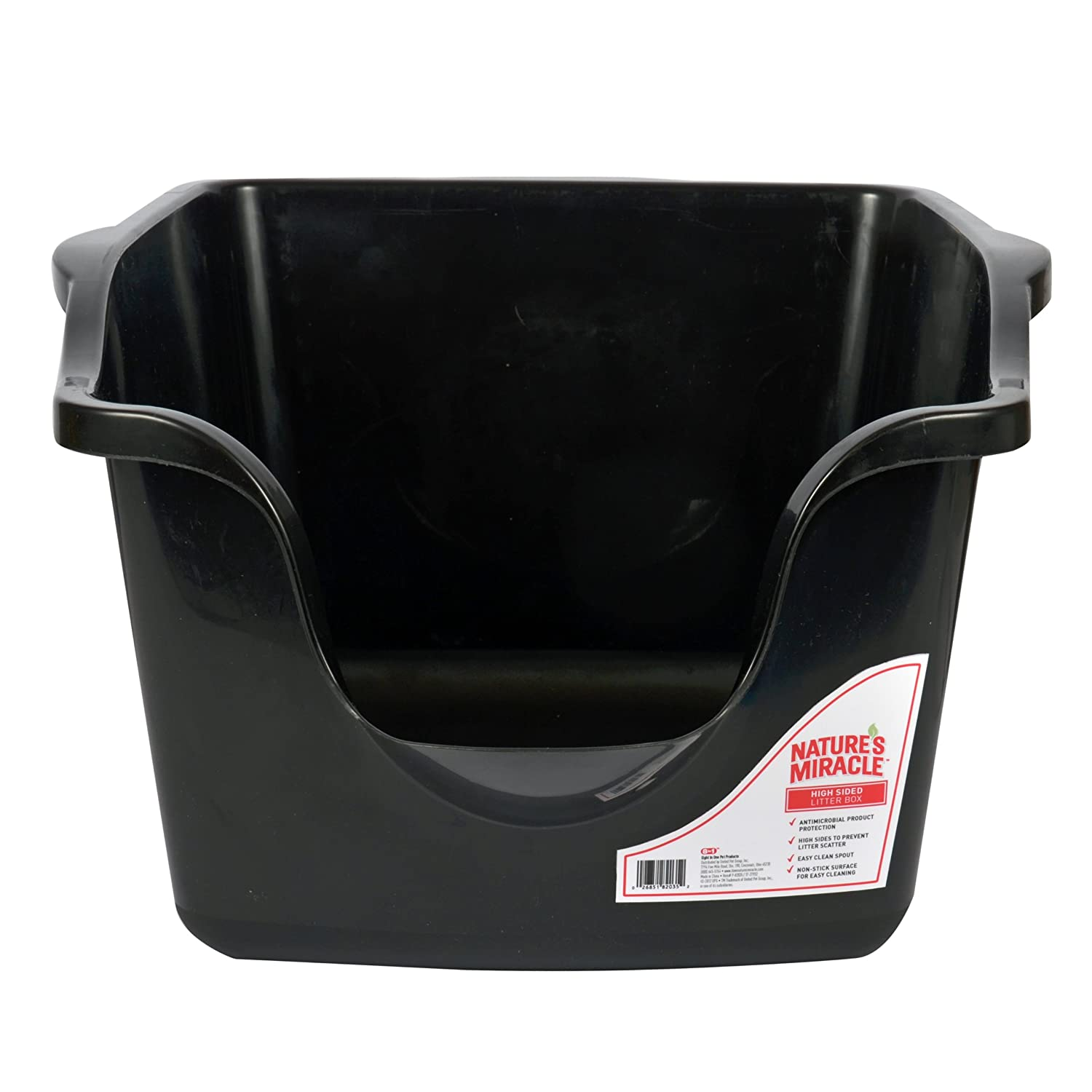 amazoncom miracle highsided litter box p82035 pet supplies - Litter Boxes
