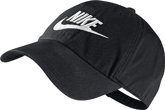 Nike Futura Washed H86-Red Gorra, Hombre, Negro/Blanco, Talla ...