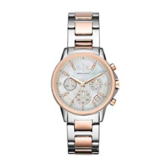28bc80dc8fee Armani Exchange Damen-Uhren AX4331  Amazon.de  Uhren