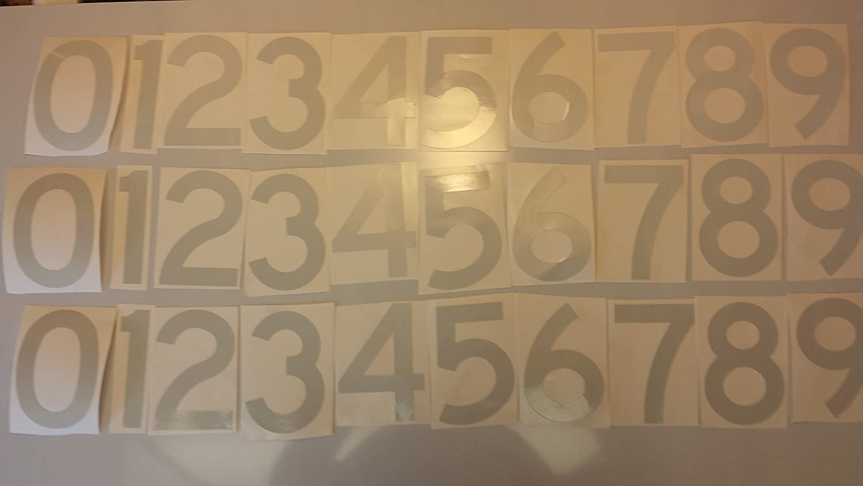 DIY 911 Reflectiveアドレス3インチ反射Numbers by mg2 Signs B01AYJA61O 14806