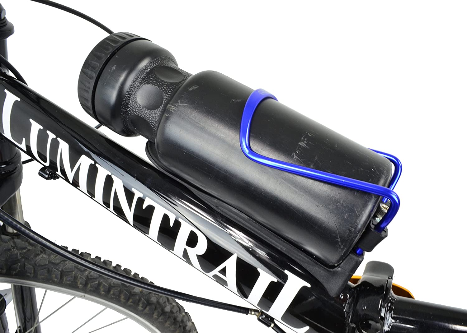 1 or 2 Packs Lumintrail Adjustable Bike Bicycle Lightweight Aluminum Alloy Water Bottle Cage Holder