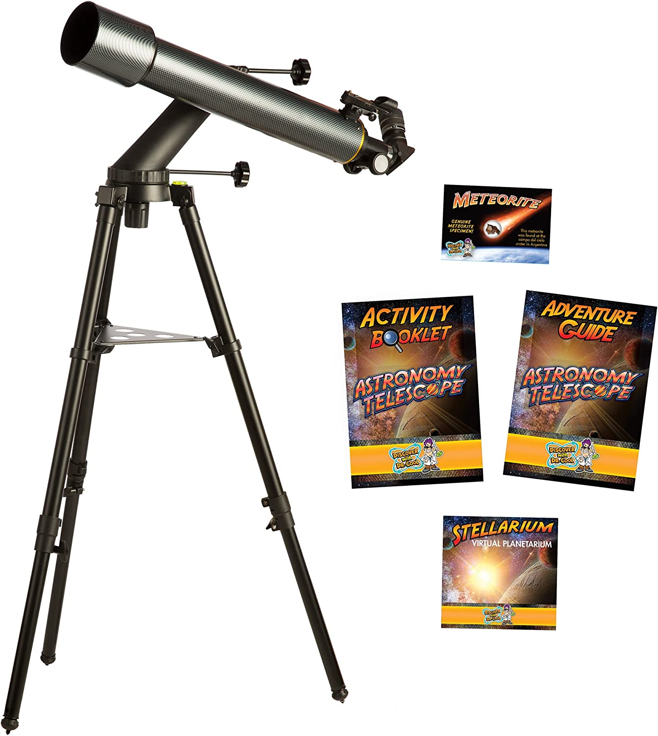 PRO Series Refractor Telescope by Discover with Dr Cool
