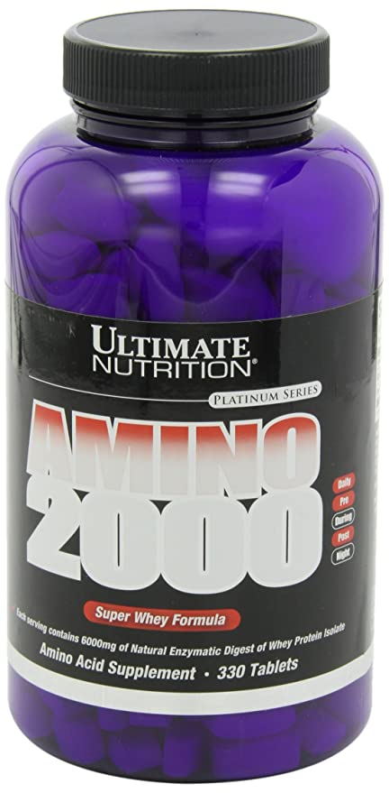 Ultimate Nutrition Super Whey Amino 2000 Standard - 330 ...