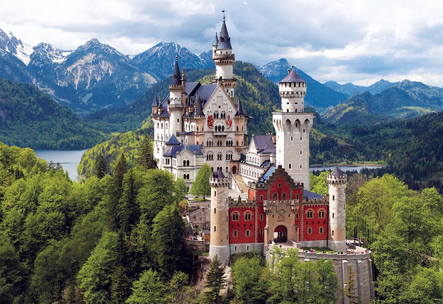 Buffalo Games 2000pc, Neuschwanstein Castle, Bavaria - 2000pc Jigsaw Puzzle by Buffalo Games