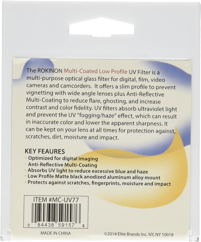 Rokinon MC-UV77 Multi-Coated Slim Pro 77 mm UV Filter