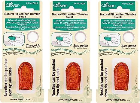 3 Pack 1 Pack Dritz Dritz Fingertip Thimble-Medium