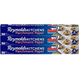 Reynolds Kitchens Parchment Paper Roll with SmartGrid - 3 Boxes of 50 Square Feet (150 Sq. Ft)