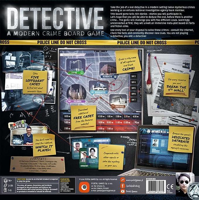 Wydawnictwo Portal POP00376 - Detective: Amazon.es: Juguetes y juegos
