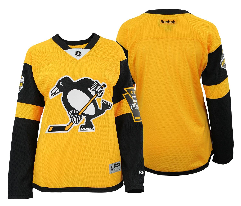 promo code 850d4 967ea Amazon.com : adidas NHL Women's Pittsburgh Penguins Reebok ...