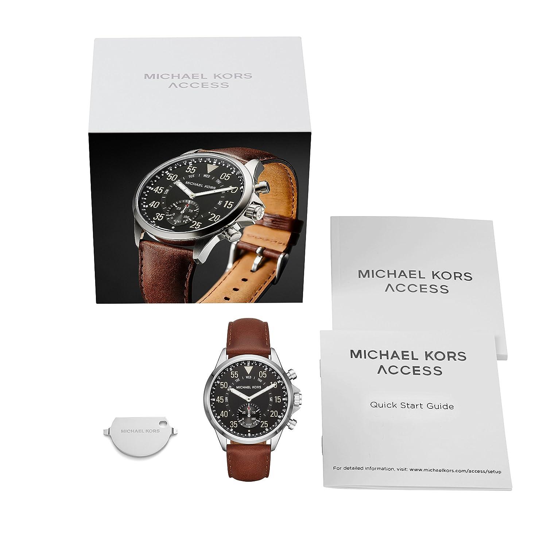 Michael Kors Smartwatch para Hombre de con Correa en Cuero ...