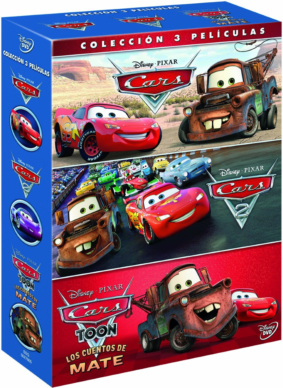 Pack Cars + Cars 2 + Cars toon [Blu-ray]: Amazon.es: 0, Varios, 0 ...
