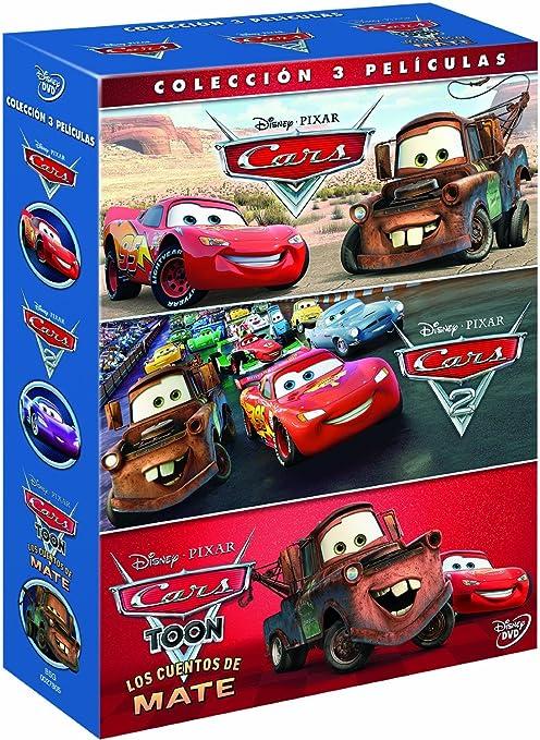 Pack Cars + Cars 2 + Cars toon [Blu-ray]: Amazon.es: 0, Varios, 0: Cine y Series TV