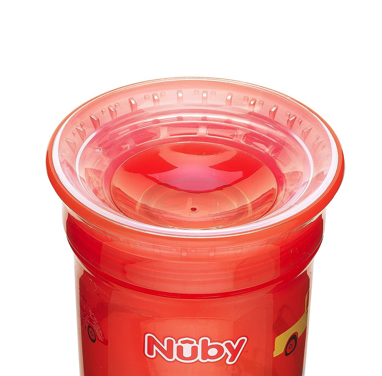 Maxi 2/St/ück Nuby 360/Grad kein /überschwappen Cup farblich sortiert Junge
